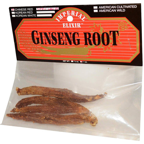 IMPERIAL ELIXIR - Chinese Red Whole Ginseng Root