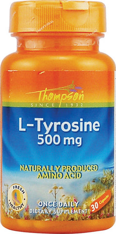 Thompson Nutritional L Tyrosine 500 mg