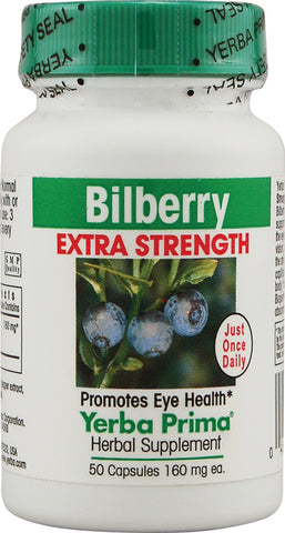 Yerba Prima Bilberry Extra Strength
