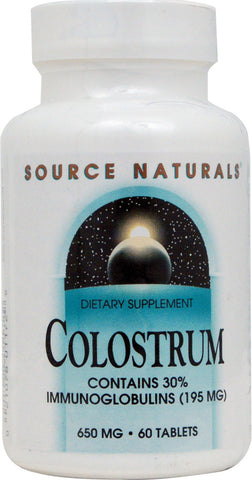 Source Naturals Colostrum