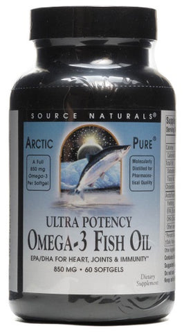 Source Naturals ArcticPure Ultra Potency Omega 3 Fish Oil