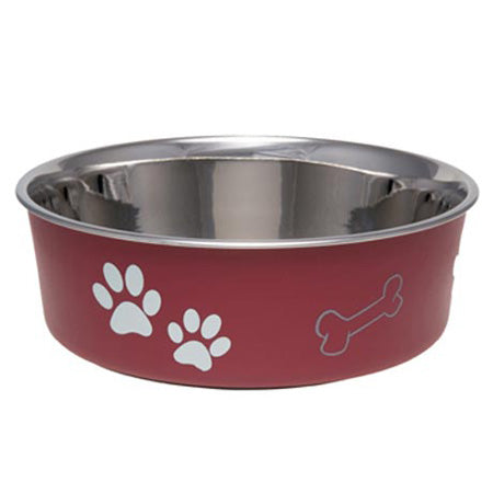 Bella Merlot Pet Bowl Medium - 1 Bowl