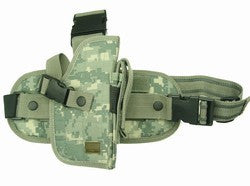 ACU Digital Camouflage Drop Leg Gun Holster Right Handed -- TG207AR