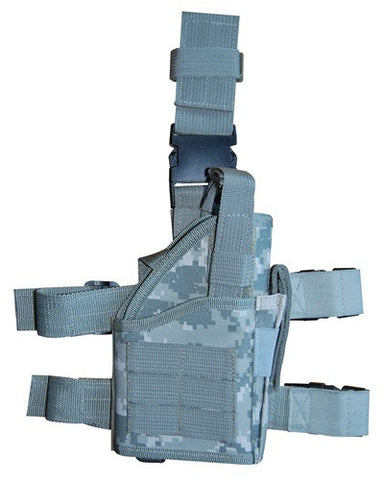 ACU Digital Camouflage Tactical Leg Holster with Web Straps Right Handed -- TG246AR