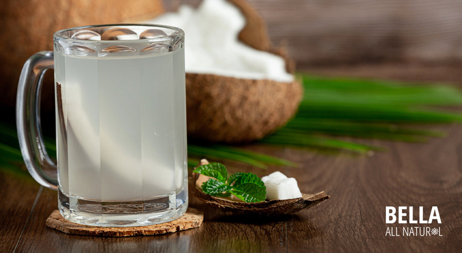 Coconut Water Glass