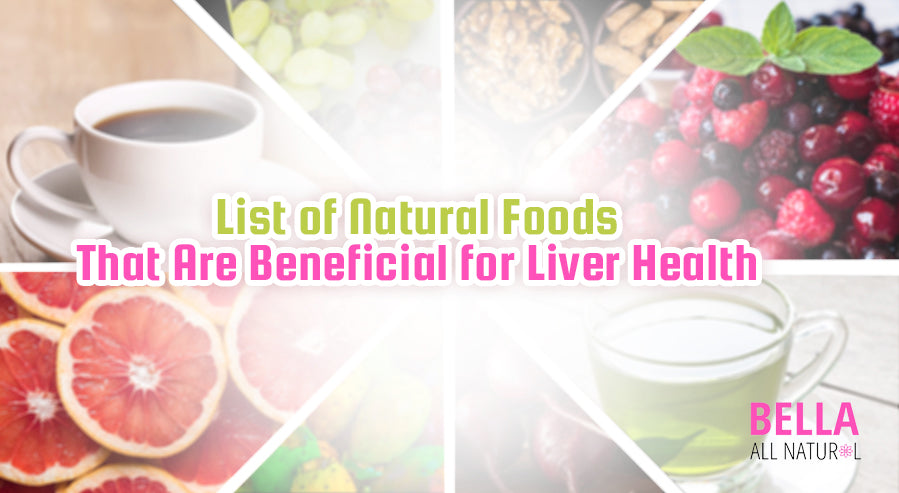 Foods Beneficial Liver Health