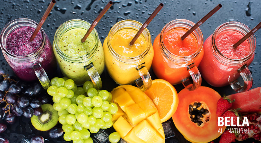 Various Smoothie Fruits