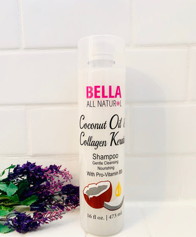 Coconut Oil & Collagen Keratin Shampoo