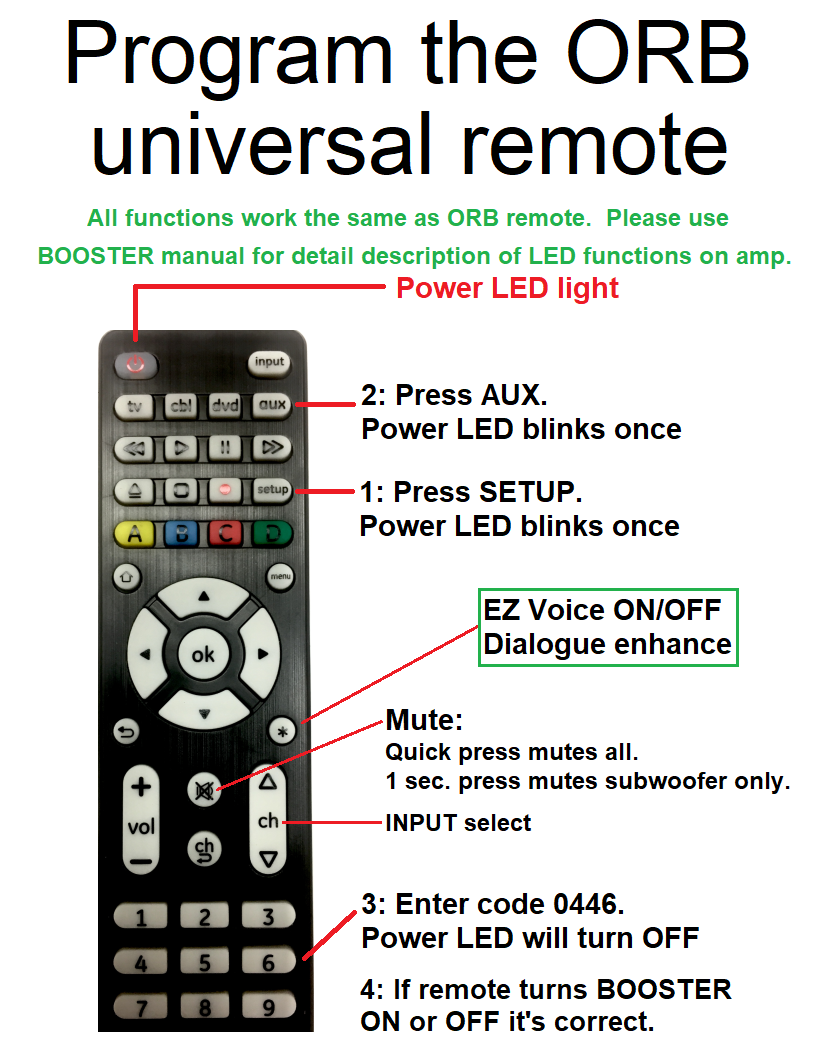 Support Assembly Videos Orb Audio Ceiling Speaker Wiring Booster Program The Universal Remote