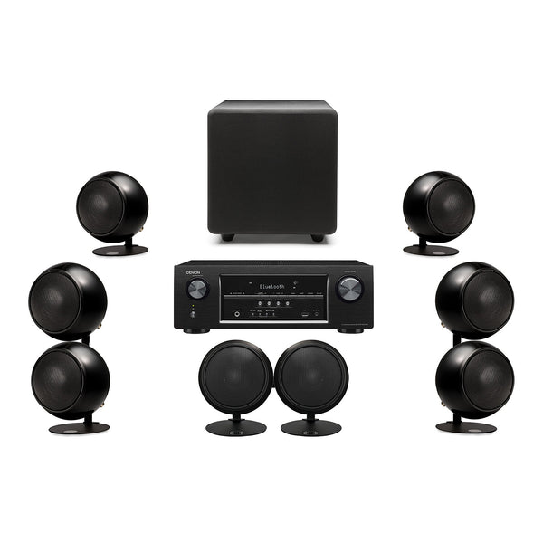 Complete Home Theater Systems Surround Sound Receivers And Orb