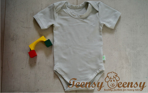 Bamboo Short Sleeves Bodysuit