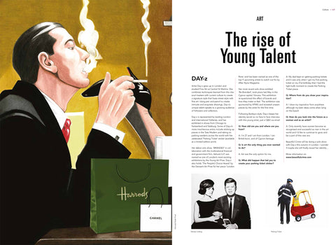 'The Rise of Young Talent' featured in I-M Magazine