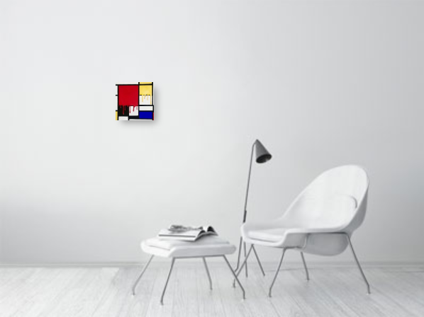 'Melting Mondrian'
