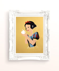 Snow White Gold A4