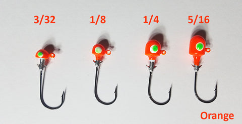 Muddy Water Baits Wack'em Series Jig Heads, 5ct