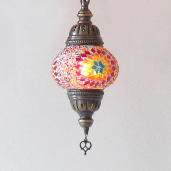 Woodymood Ceiling Mosaic Lamp 7 Ball-Flame