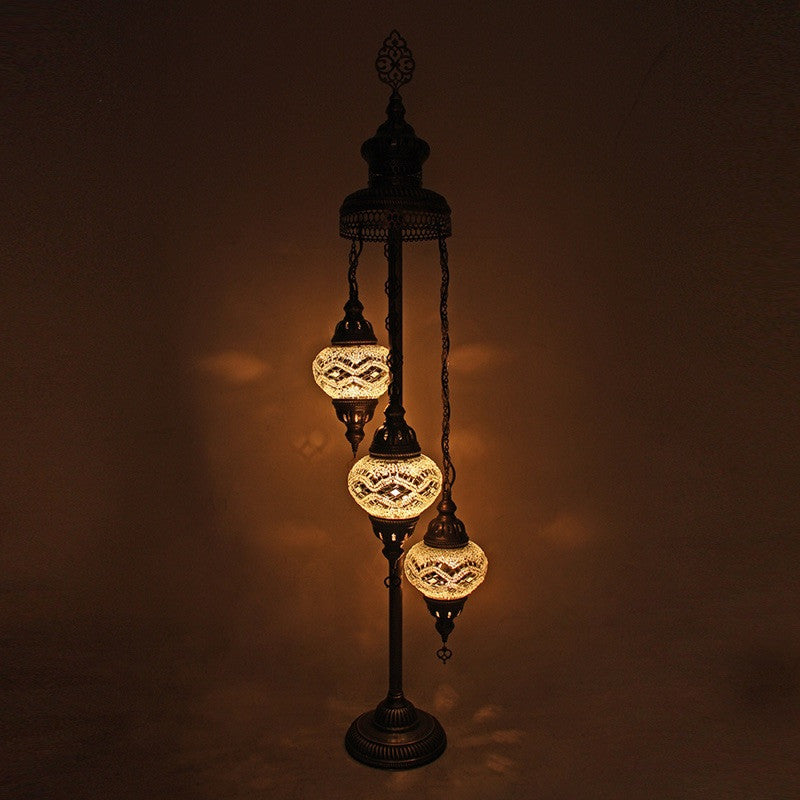 mosaic lamp pin turkish lamps byzantium magical handcrafted lights by