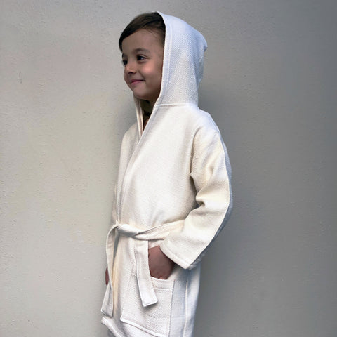 Kids Turkish cotton Peshtemal Bathrobe