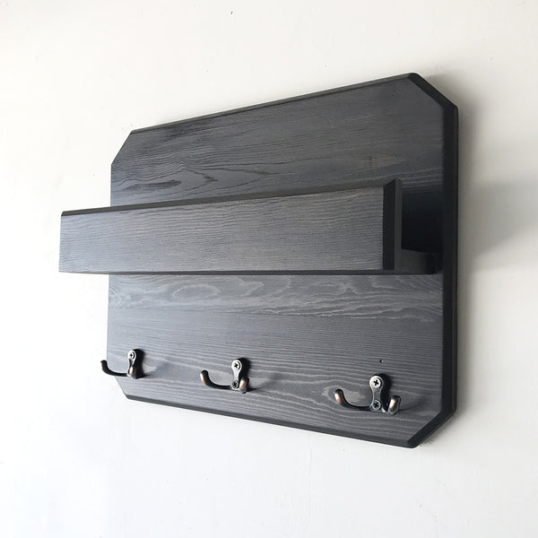 Woodymood Lovely Wall Organizer Shelf-Wenge