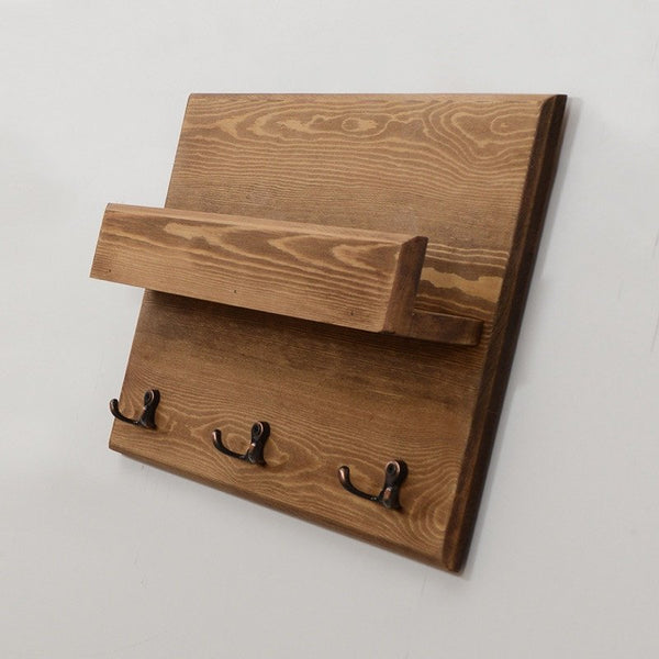 Woodymood Lovely Wall Organizer Shelf-Natural