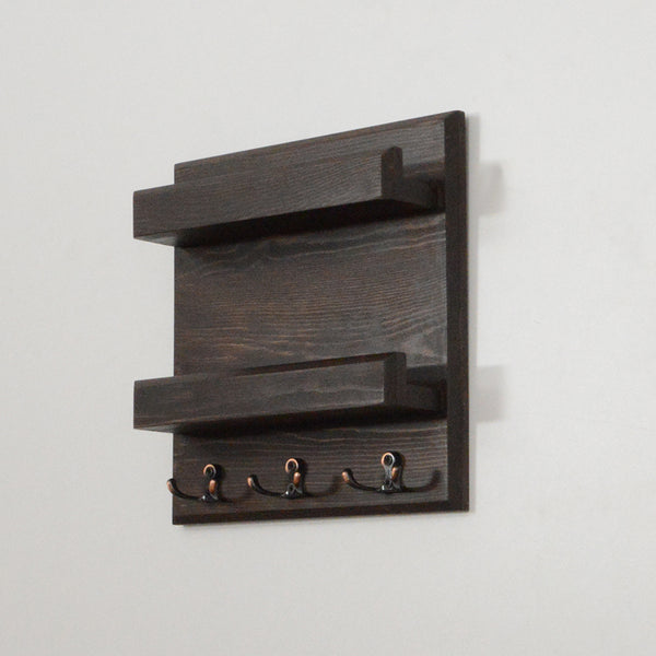 Woodymood Stylish Wall Organizer Shelf