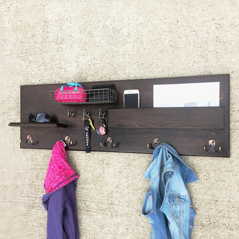Woodymood Sweet Home Wall Organizer Shelf-Wenge