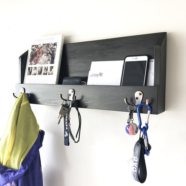 Woodymood Cosy Wall Organizer Shelf-Wenge