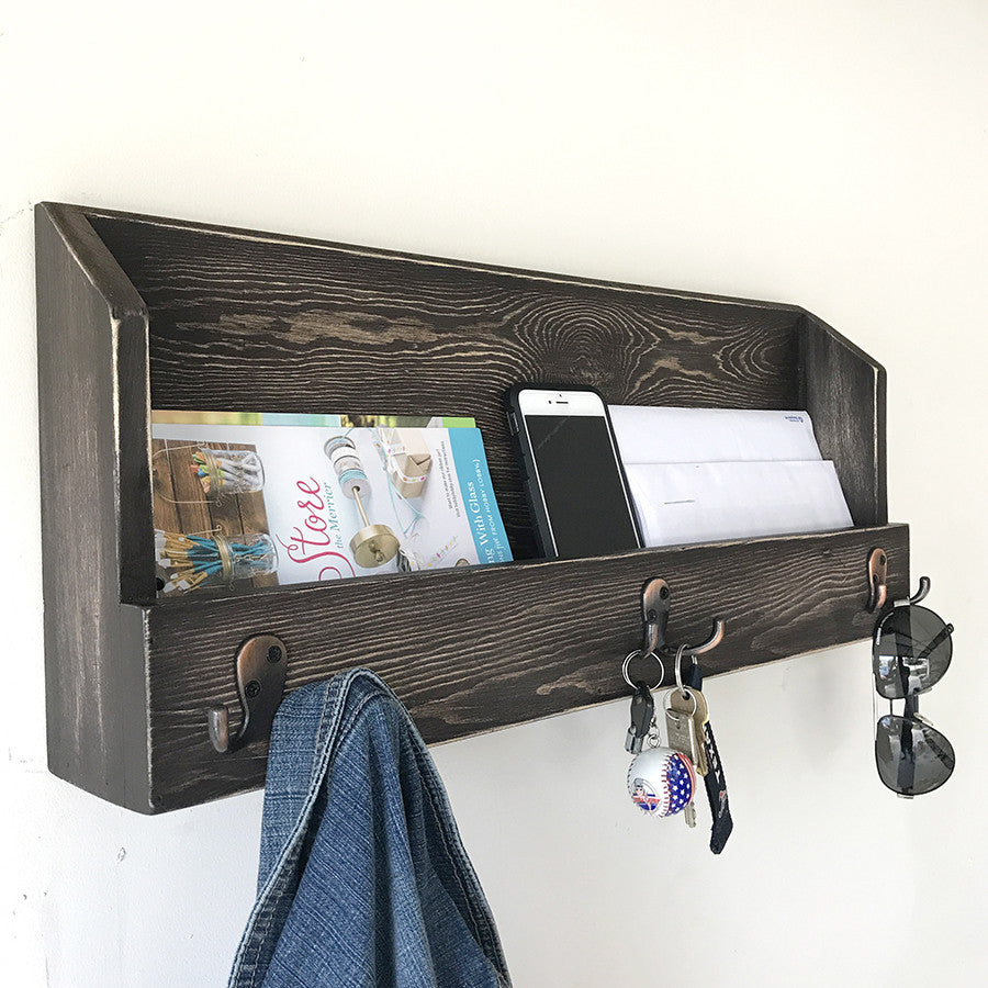 Woodymood Cosy Wall Organizer Shelf-Old Tree