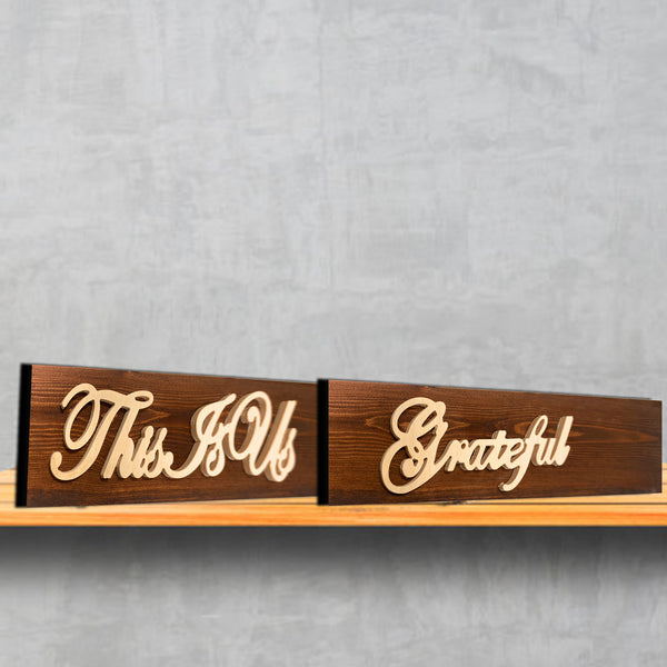 Painted Wood Custom Sign