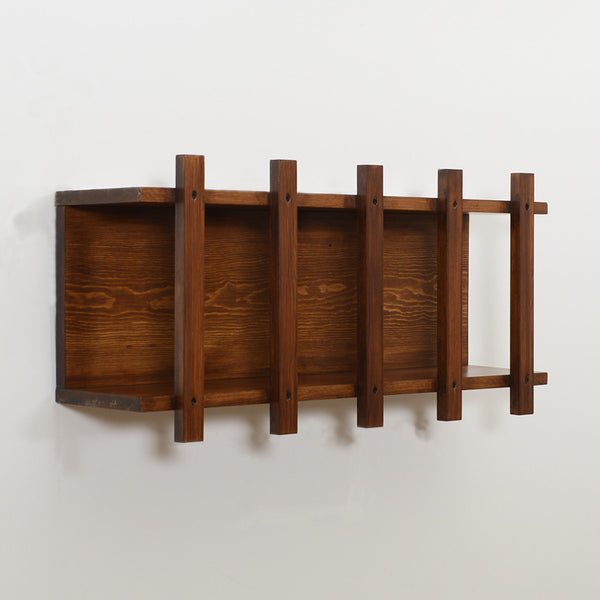 Woodymood Cage Rack-Dark Hazelnut