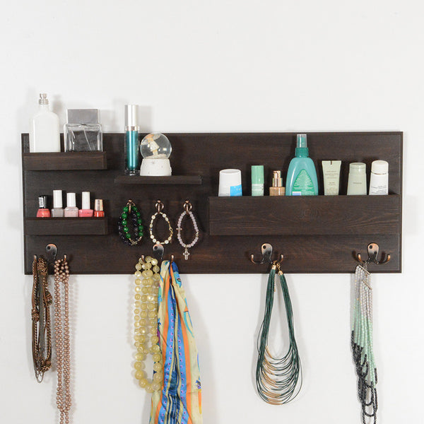 Woodymood Little Professional Wall Organizer Shelf-Wenge