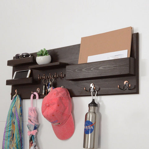 Woodymood Professional Wall Organizer Shelf-Wenge
