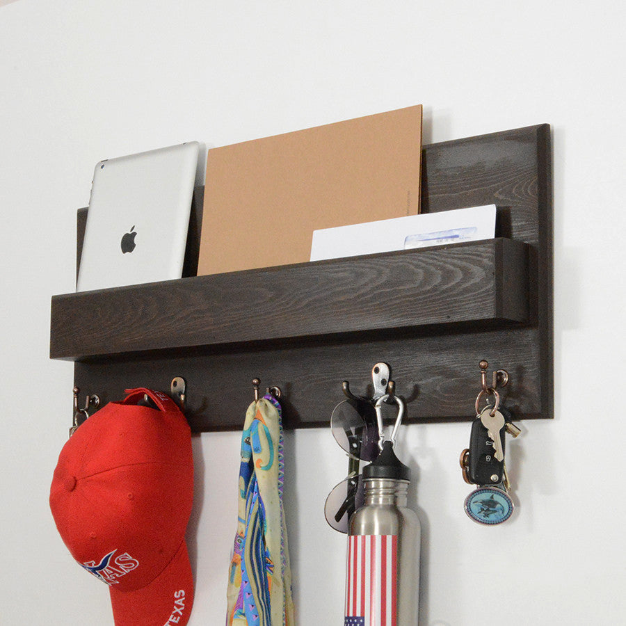 Woodymood Spring Wall Organizer Shelf-Wenge