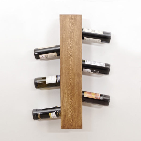 Woodymood Sto Wine Rack-Natural