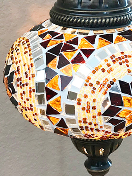 Woodymood Sconce Mosaic Lamps 5'' 1 Ball