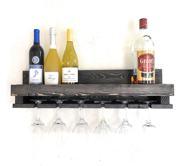 Woodymood Wine Rack Glass Holder