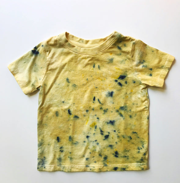 bundle dye tee - organic cotton