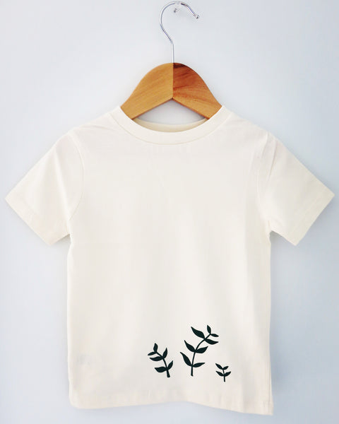 leaves tshirt - organic cotton