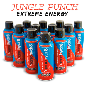 Jungle Punch Extreme 12 pack - 4oz Shooters - NanoHydr8