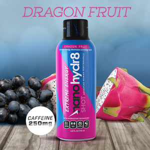 Dragon Fruit Extreme 12 pack - 4oz Shooters - NanoHydr8
