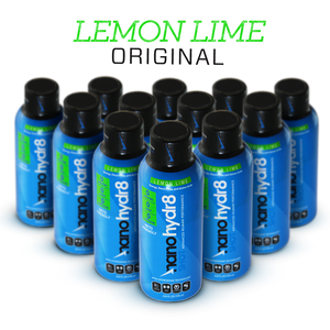 Load image into Gallery viewer, Triple Zero Lemon Lime 12 Pack of 4oz Shooters - NanoHydr8