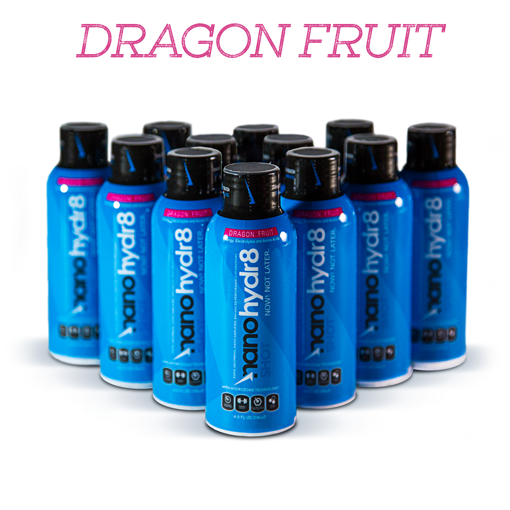 Original Dragon Fruit 12 pack - 4oz Shooters - NanoHydr8