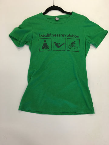 Woman's Green Total Fitness Revolution Shirt