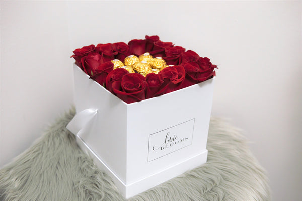 Roses and Chocolate. The Perfect Pair!