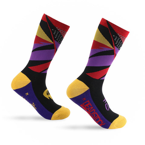Deadstock Coffee Sock - Raptor Purple
