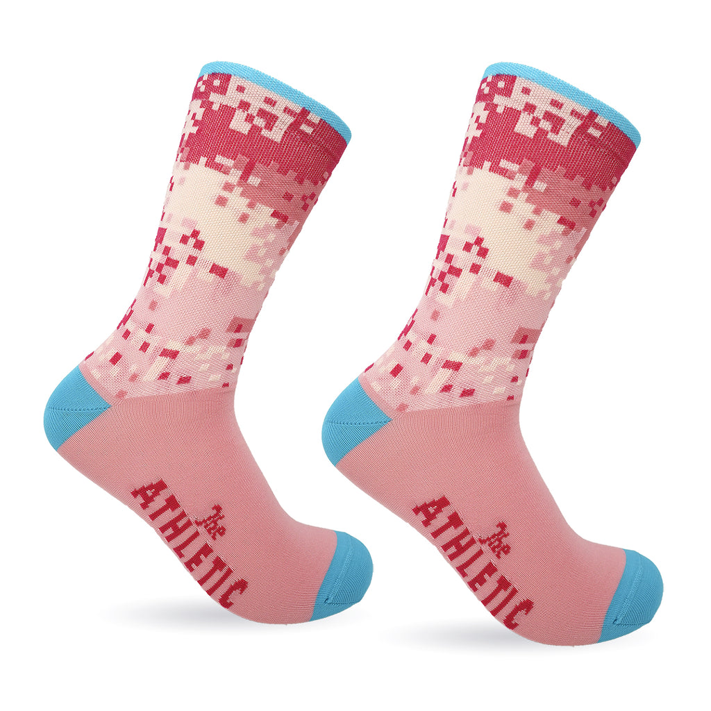 Digi Camo Socks - Cotton Candy
