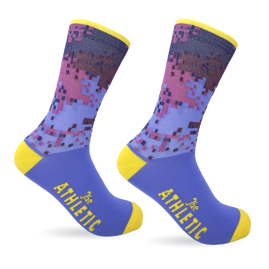 Digi Camo Socks - Purple Rain