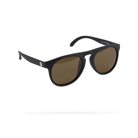 Sunski Sunglasses -- Foxtails Amber/Black Polarized