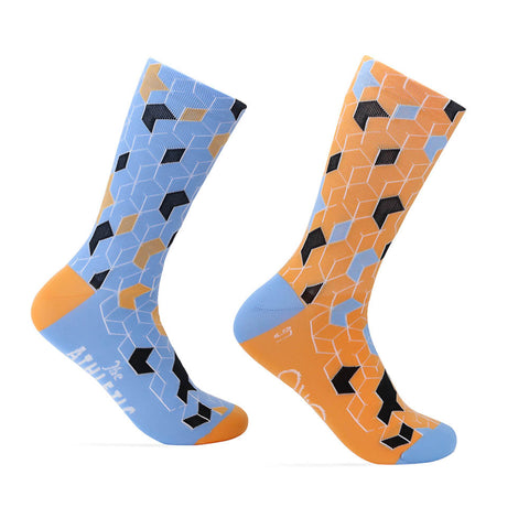 La Cubiste Sock - Orange