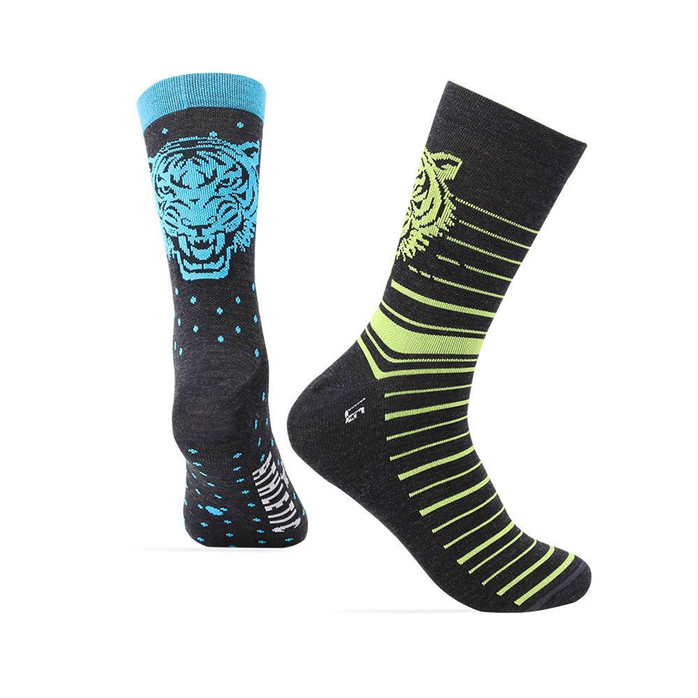 Le Tigre Merino Wool Mismatch Sock